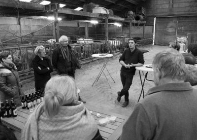 RD visite de la ferme Sebastien Geens